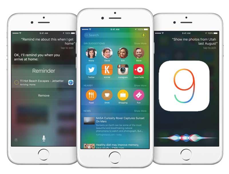 Guide détaillé : Mettre à jour vers iOS 9 en toute sécurité ...