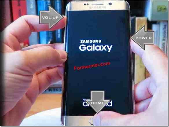 comment rebooter et formater samsung galaxy S7 edge
