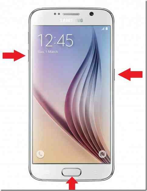 Samsung-n920a-galaxy-note5-System recovery