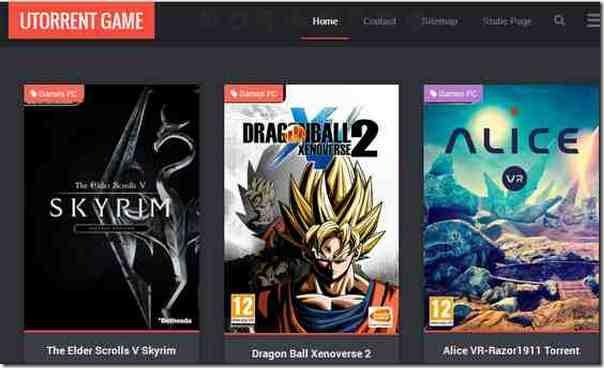 utorrent game télécharger des jeux PC gratuitement