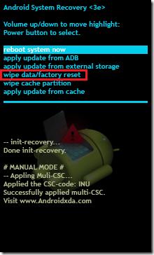 recovery mode Restore LG L90 Dual D410