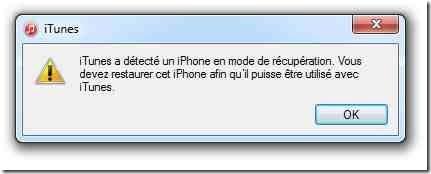 iphone 6 mode récupération