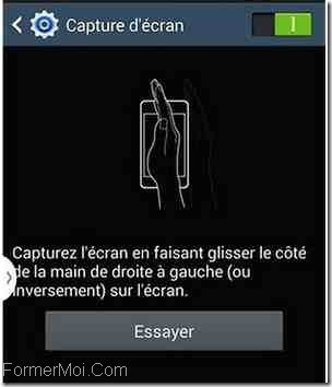 Samsung galaxy c prendre une capture d 39 cran comment faire for Prendre photo ecran