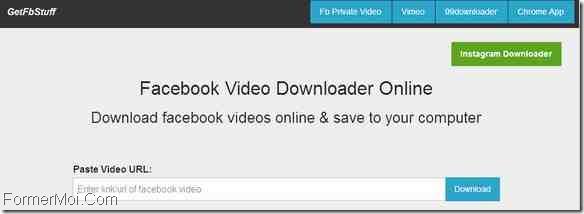 GetFBStuff Télécharger Facebook Videos