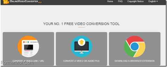 OnlineVideoConverter Télécharger Dailymotion Videos