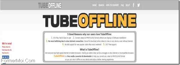 TubeOffline Télécharger Dailymotion Videos
