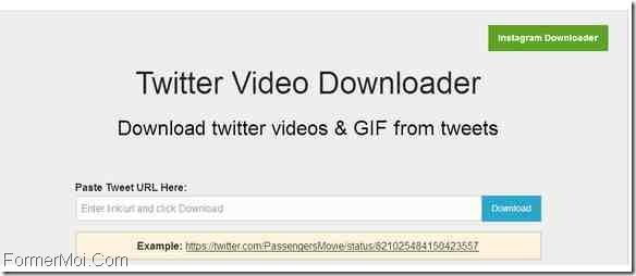 TwitterVideoDownloader Télécharger des vidéos Twitter