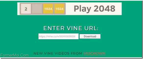 VineDownloader Télécharger Vine Videos