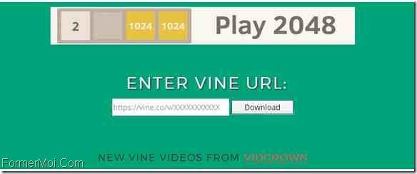 VineDownloader Télécharger Vine Videos