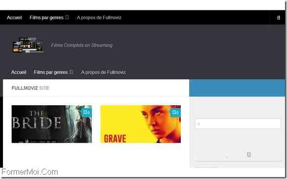 site de streaming français