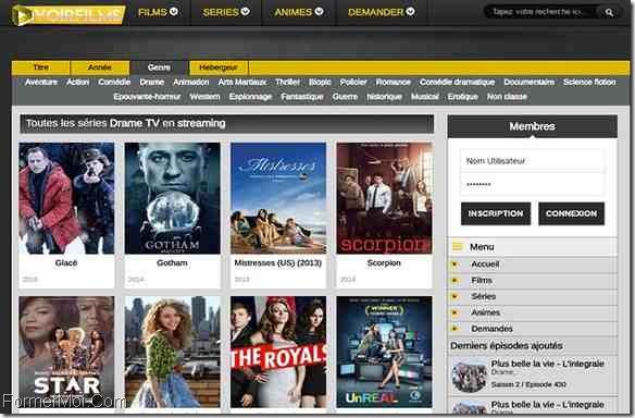 regarder des sites de films