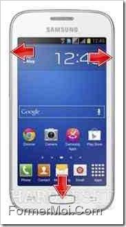 Galaxy Star Pro S7262 hard reset