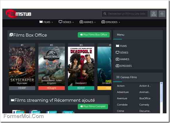 films streaming gratuits