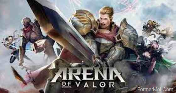 Jeux multijouers android Arena of Valor