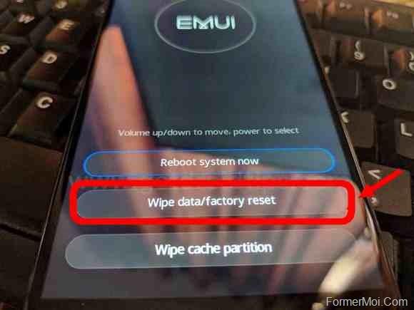 Huawei Mate 20 Pro Recovery Mode