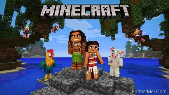 Minecraft sur telephone android
