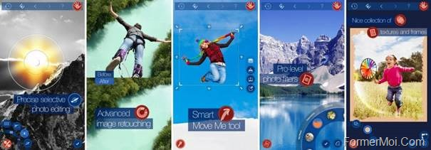 application transformer photo en bd
