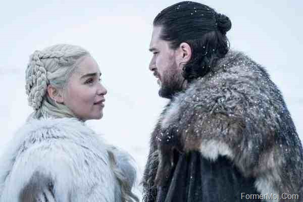 Daenerys Targaryen, Jon Snow game of thrones