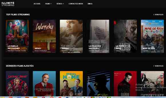 Illimité streaming (2020) - Top sites de streaming